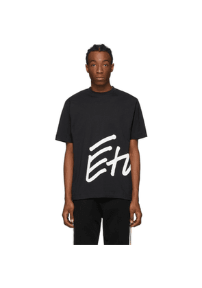 Etudes Black Wonder Sign T-Shirt