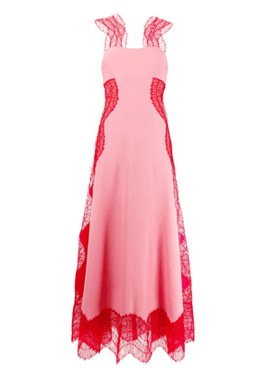 Givenchy two tone long dress - PINK