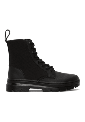 Dr. Martens Black Combs Utility Boots