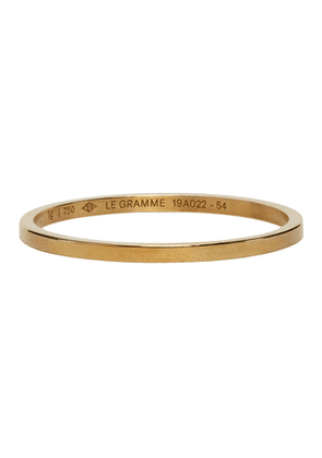 Le Gramme Gold 1 Gramme Wedding Ring