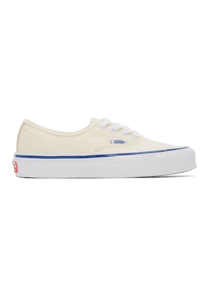 Vans Off White Island Leaf OG Authentic LX Sneakers