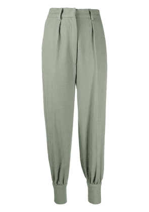 Atu Body Couture pleated waist trousers - Green