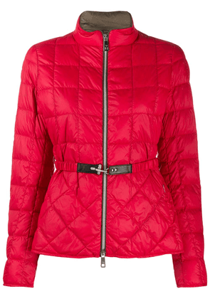 Fay quilted down jacket - Red
