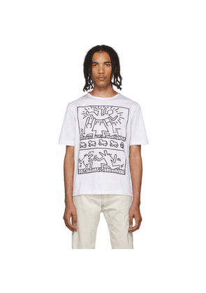 Etudes White Keith Haring Edition Unity T-Shirt