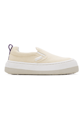 Eytys Off-White Canvas Venice Sneakers
