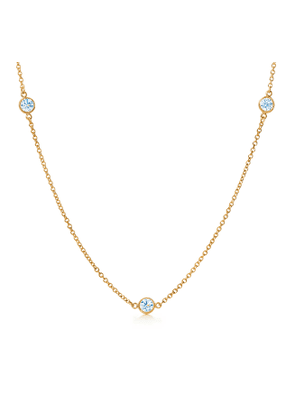 Elsa Peretti® Diamonds by the Yard® necklace in 18k gold