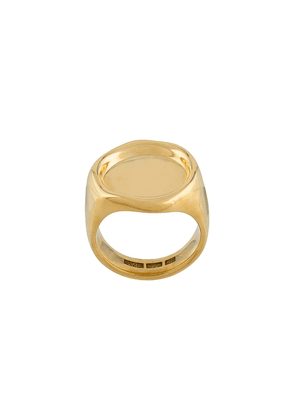 All Blues Sigil signet style ring - GOLD
