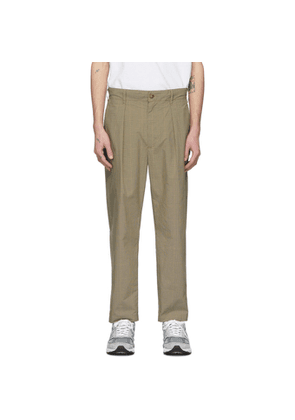 Engineered Garments Khaki Nyco Carlyle Trousers