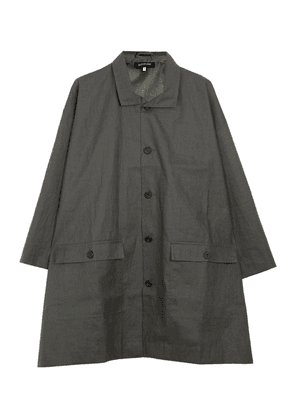 A-Line Long Raincoat