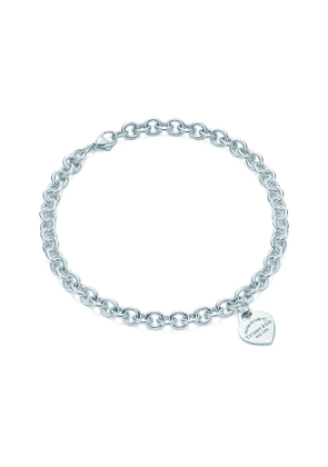 Return to Tiffany™ heart tag necklace in sterling silver