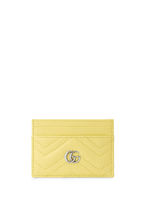 Gucci GG Marmont card case - Yellow