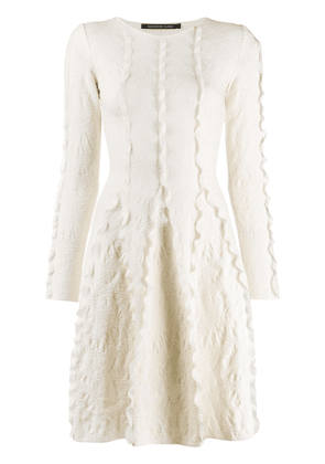 Antonino Valenti short flared dress - White