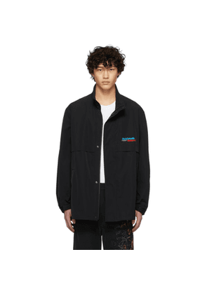 Doublet Black Chaos Track Jacket