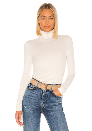AG Adriano Goldschmied Chels Turtleneck in Ivory. Size XS,S,L.