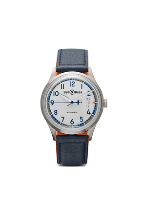 Bell & Ross BR V1-92 Racing Bird 38.5mm - BLUE AND WHITE