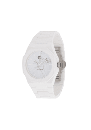 D1 Milano Marble watch - White