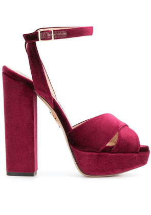 Charlotte Olympia Diana sandals - Red