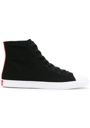 Calvin Klein 205W39nyc lace-up hi-top sneakers - Black