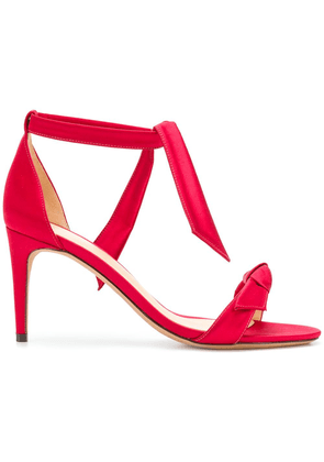 Alexandre Birman knotted front sandals - Red