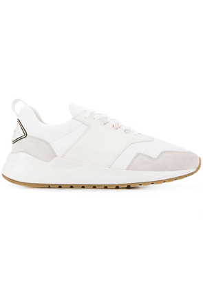 Buscemi logo panelled sneakers - White