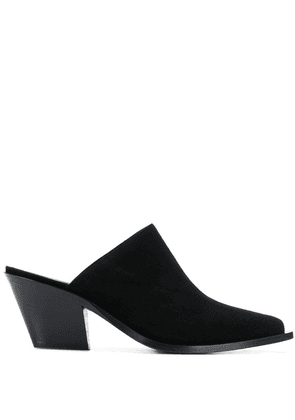 Barbara Bui pointed mule pumps - Black