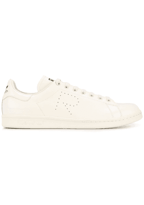 adidas by Raf Simons Cream Leather Stan Smith Trainers - White