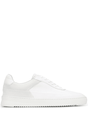 Filling Pieces contrast panel sneakers - White
