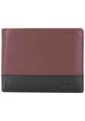 Cerruti 1881 two-tone foldover wallet - Brown