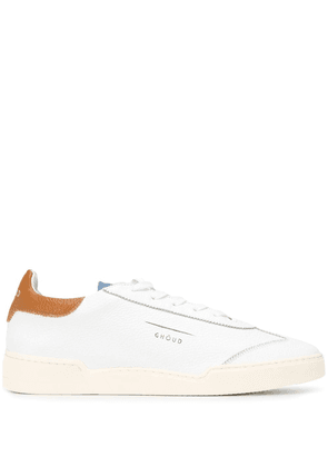 Ghoud lace-up low top sneakers - White