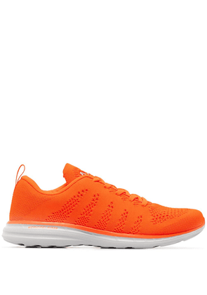 APL: ATHLETIC PROPULSION LABS mesh lace-up sneakers - ORANGE