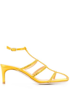 Giannico open-toe strapped sandals - Yellow
