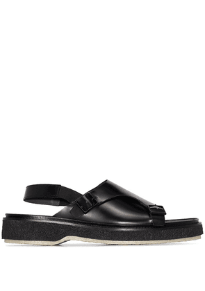 Adieu Paris buckled strap sandals - Black