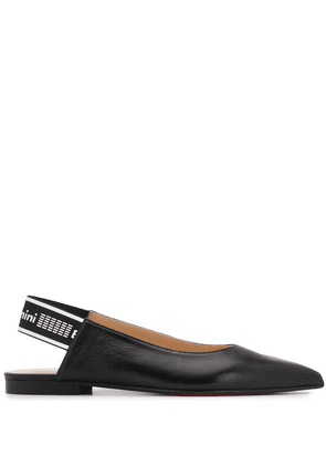 Baldinini slingback 15mm pumps - Black