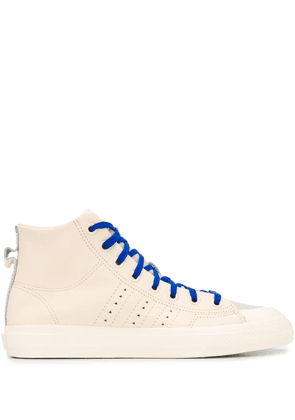 adidas by Pharrell Williams Nizza RF lace-up high top sneakers -