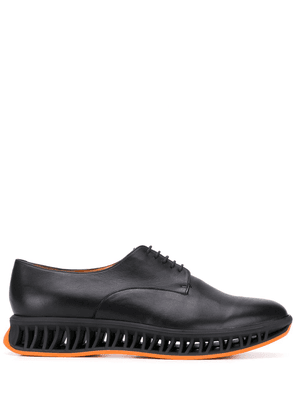 Clergerie Maka caged-midsole derby shoes - Black