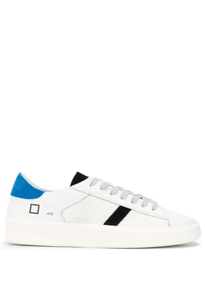 D.A.T.E. contrast panel mesh detail sneakers - White