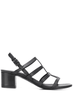 Del Carlo multiple strap 55mm sandals - Black