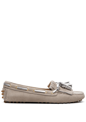 Car Shoe moccasin driving loafers - NEUTRALS