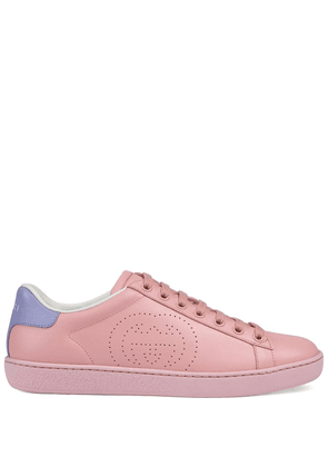 Gucci interlocking GG Ace sneakers - PINK