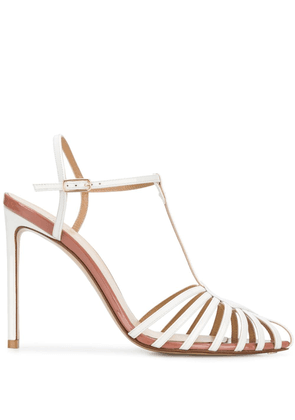 Francesco Russo strappy 120mm sandals - White