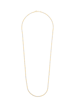 Carolina Bucci 18kt yellow and white gold Long Disco Ball necklace -