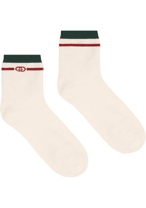Gucci GG detail socks - White