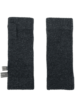 N.Peal fingerless gloves - Grey