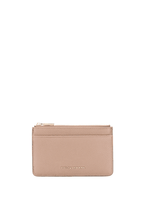 Dolce & Gabbana logo detail wallet - Brown
