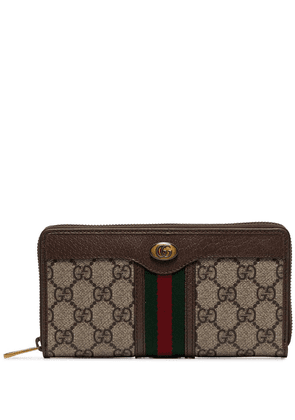 Gucci Ophidia GG Supreme pattern wallet - Brown