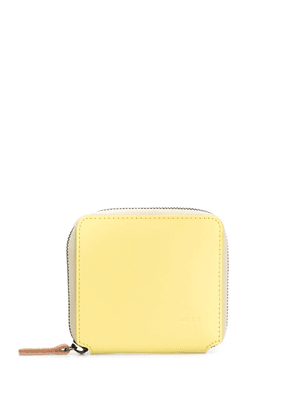 Ally Capellino all around zip wallet - Yellow