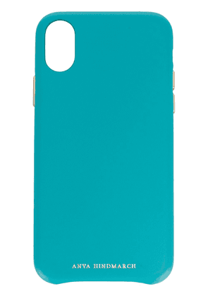 Anya Hindmarch Pimp Your Phone iPhone X case - Blue