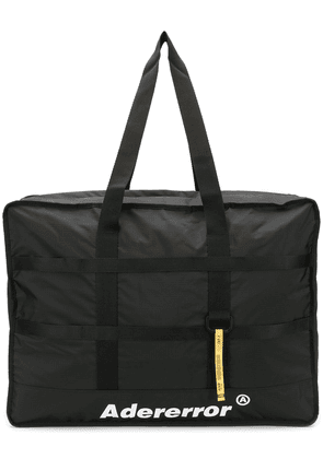 Ader Error logo holdall bag - Black