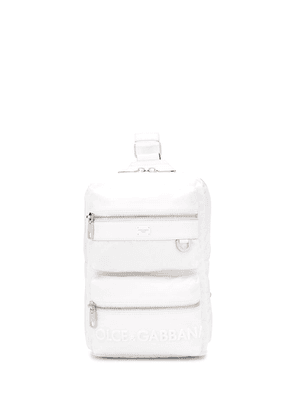 Dolce & Gabbana logo backpack - White