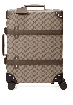 Gucci x Globe-Trotter GG Supreme carry-on - NEUTRALS